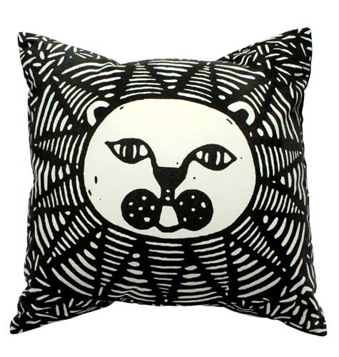 lion-cushion-cover-with-an-insert-1-color-screen-print-ct1