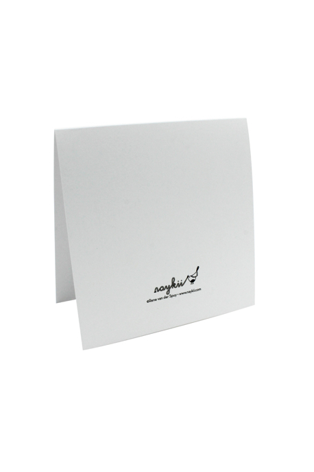 Greeting Card (reverse)