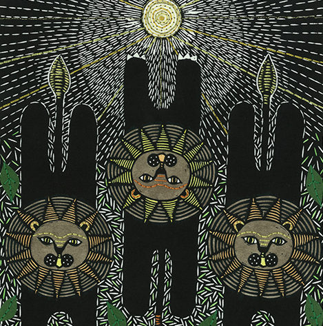 Naykii-Trio-Leo-Original-Artwork
