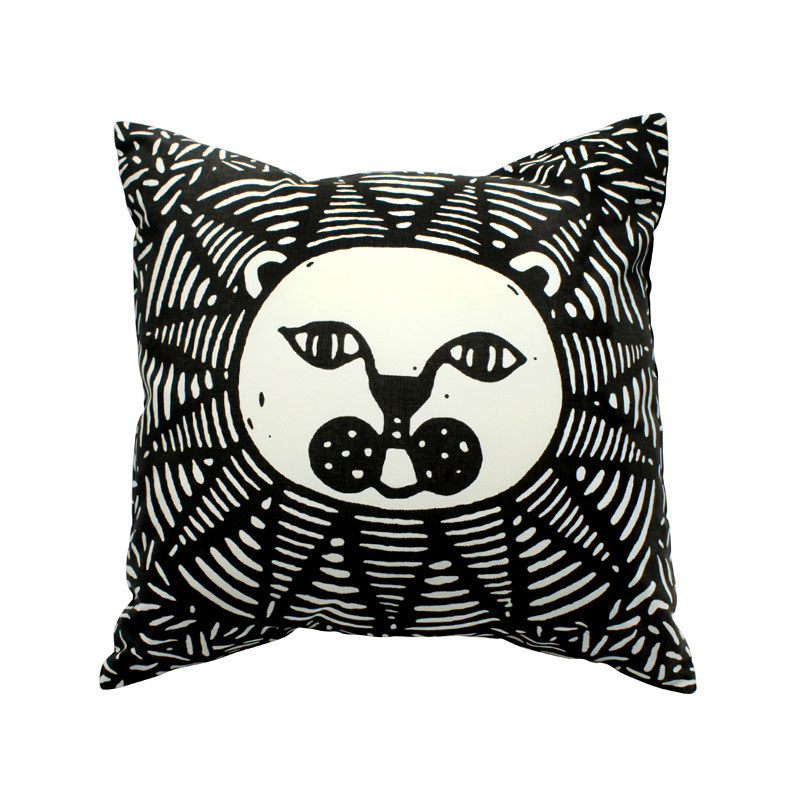 lion-cushion-cover-with-an-insert-1-color-screen-print-sp