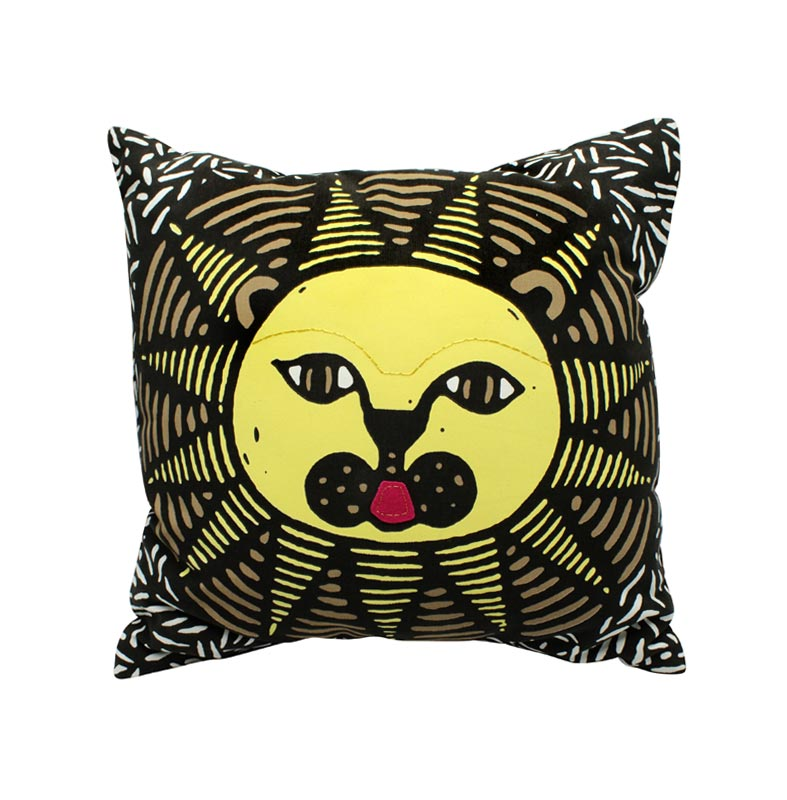 lion-cushion-cover-with-an-insert-3-color-screen-print-sp